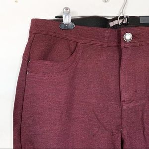 Maurices • Red Six Pocket Skinny Pants